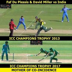 Faf Du Plessis and David Miller: Then & Now #CT2017 #INDvSA For more cricket fun click: http://ift.tt/2gY9BIZ - http://ift.tt/1ZZ3e4d