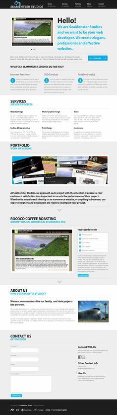 SeaMonster Studios Web Site 1.0 » SeaMonster Studios