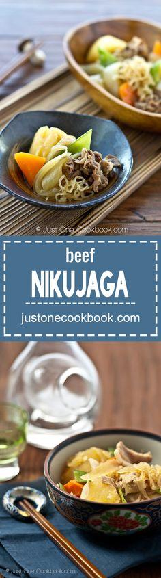 Nikujaga (肉じゃが)   Easy Japanese Recipes at JustOneCookbook.com