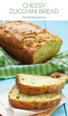 Cheesy Zucchini Bread - this recipe is ideal for breakfast or brunch ...