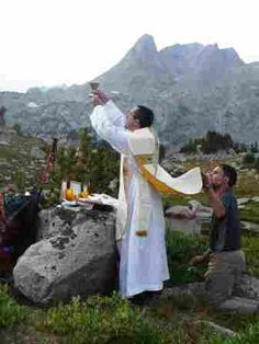 Mass in the mountains