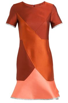 15 Designer Formal Dresses — On Sale #refinery29  http://www.refinery29.com/sale-designer-dresses#slide10  Ostwald Helgason Structured Double-Faced Silk-Blend Jacquard Dress, $509 (originally $1,010), available at Browns.