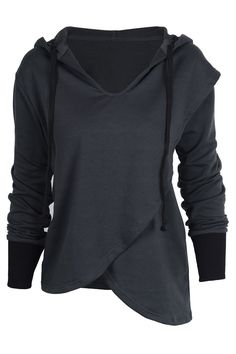 Cupshe Leave Me Alone Hoodie Top Hooded Sweatshirts, Hoodies, Cool Style, My Style, Online Fashion Stores, Affordable Fashion, Capsule Wardrobe, Casual Wear, Cute Outfits