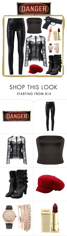 """""""Untitled #125"""" by thejanetriceas ❤ liked on Polyvore featuring Helmut Lang, Dolce&Gabbana, Giorgio Armani, Jessica Carlyle, Lipstick Queen and Victoria's Secret"""