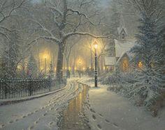 Winter Chapel by Mark Keathley