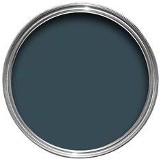 Krijtverf Hague Blue (30) van Farrow & Ball | Krijtverf mat Estate Emulsion De krijtverf met de Estate Emulsion afwerking heeft een glansniveau van 2 procent,…