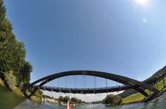 Brücke bei Bas-Vully (Schweiz).  Copyright by Rodrigue R.R. Brugger, 2015