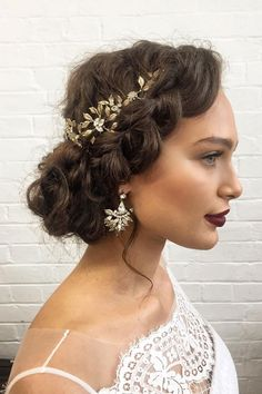 Braid updo hairstyle for long hair that You'll Love   Wedding hairstyle