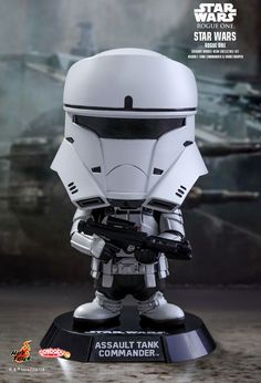 Hot Toys : Rogue One: A Star Wars Story - Assault Tank Commander & Shoretrooper Cosbaby (S) Bobble-Head