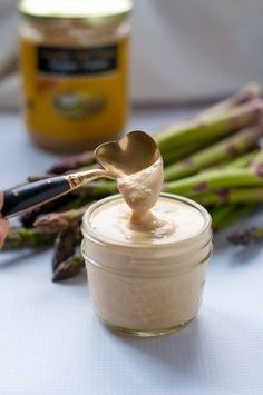 Simple Lemon Tahini Dressing. This is a versatile sauce, great on on grilled vegetables like asparagus, broccoli, or cauliflower. Also great on potato salad!