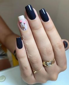 Nail beauty is one of the sine qua non for women. Therefore, different nail designs designed for you Fall Nail Art Designs, Pink Nail Designs, Acrylic Nail Designs, Elegant Nails, Stylish Nails, Trendy Nails, Pink Nails, Gel Nails, Acrylic Nails