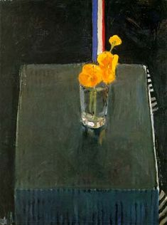 Poppies by Richard Diebenkorn, Oil on Canvas Still Life