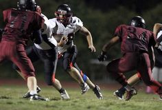 Photo from Santa Cruz vs. SLV football game the weekend of Oct. 5-6 by Bill Lovejoy for the Santa Cruz Sentinel.