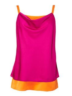 This floaty top gives you an artful color-blocked look, without thinking about it. Nicole by Nicole Miller top, $20; jcp.com.   - Redbook.com
