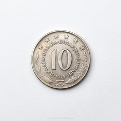 Ten Yugoslav dinars out of print 1955 Coins, Personalized Items, Rooms
