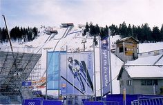 Salt Lake 2002 - Ski Jump.  This is one of the events we went to.