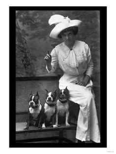 mrs-rhoades-and-her-three-boston-terriers