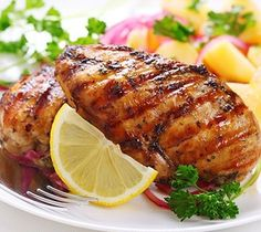 Grilled hawaiian chicken breast recipe
