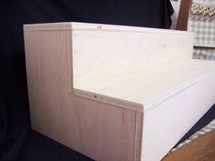 CRAFT Show Vendor Display Shelf  Table Organizer. $35.00, via Etsy.