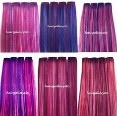 """$14.99 - 12"""",14"""", 18"""" Long Multi Color Clip-In 100% Human Hair Extensions 4Pcs Usa Seller #ebay #Fashion"""