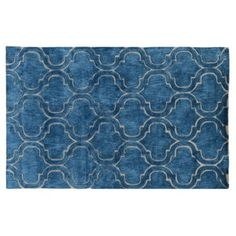Check out this item at One Kings Lane! Tayla Rug, Blue