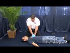 Adult CPR - 1 rescuer