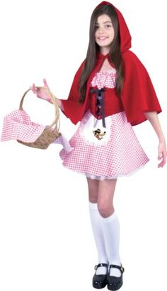 Red Riding Hood Preteen Halloween Costume 2014 - Our tween Little Red Riding hood dress is the ideal Halloween costume for any preteen girl. To complete this Riding hood outfit remember to add our Riding hood basket. Hollween Costumes, Tween Costumes, Halloween Costumes 2014, Costume Ideas, Halloween Outfits, Halloween Themes, Little Red Riding Hood Halloween Costume, Red Riding Hood Costume, Cute Girl Dresses