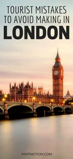 Visiting London for the first time? Use these tips to help you save money on London's top attractions so you can enjoy your trip on a budget. There is no shortage of free things to do in London, including free museums, attractions and self-guided walks. To make your London trip more enjoyable, click through to find out the 10 costly mistakes to avoid. #londonlife #londontrip