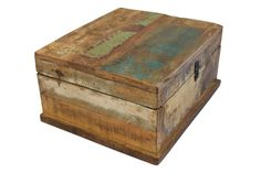 Large Beautiful Jewellery Box, handcrafted in reclaimed Indian teak. £44.99 via Chattels Trading.