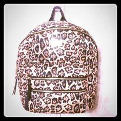 Steve Madden Quilted Leopard Backpack NWT Steve Madden Bags Backpacks