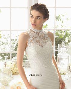 2015 New Collection Mermaid Strapless Sweetheart Pleated Beaded Ruffled Alibaba Wedding Dress