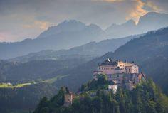 Hohenwerfen Castle, Austria - by Daniel Parks - D.H. Parks:Flickr
