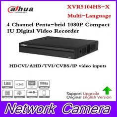 Dahua XVR5104HS-X Full HD 1080P 4 Channel Penta-brid 1080P Compact 1U Digital Video Recorder Support CVI TVI IP video input  Price: 2062.98 & FREE Shipping #computers #shopping #electronics #home #garden #LED #mobiles #rc #security #toys #bargain #coolstuff |#headphones #bluetooth #gifts #xmas #happybirthday #fun