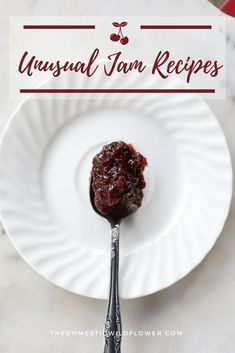 If you're looking for an unusual jam recipe, you're in the right place. These are some fantastic, unusual jam recipes to give as gifts, test your canning skills, stretch your imagination, and get you out of a canning rut. Watermelon Jam, Kiwi Jam, Mango Jam, Jam Recipes, Canning Recipes, Huckleberry Jam, Chia Seed Jam Recipe, Mulberry Jam