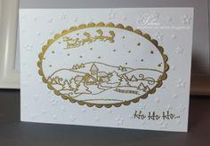 {Kreatives} von Selene: Weihnachten '15 #5 #weihnachten #christmas #weihnachtskarte #christmascard #vivadecor