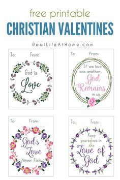 Printable Religious Valentine Cards for Kids  Free printable