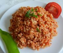Bulgur and Vegetable Pilaf - A Classic Turkish Side Dish