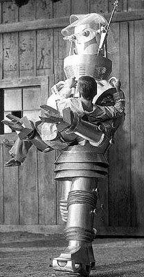 Tobor is Robot spelt backwards; Tobor the Great, 1954