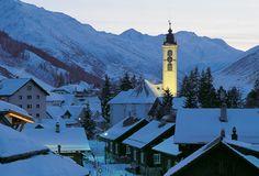 the lovely town of Andermatt Andermatt, My Heritage, Winter Wonderland, Switzerland, Skiing, Dreams, Spaces, Adventure, Building