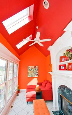 Choosing the right color for a small room