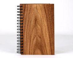 Cahier avec deux couvertures de bois par MelodieLaroche Office Supplies, Notebook, Etsy, Father's Day, Woodwind Instrument, The Notebook, Exercise Book, Notebooks