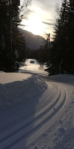 Visit Austria, Cross Country Skiing, Central Europe, Alps, Vacation, Sunset, Outdoor, Outdoors, Vacations