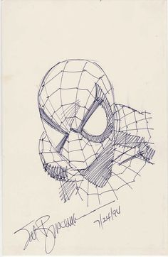 Sal Buscema - Spider-Man Sketch Original Art This sketch, drawn with a pen on a backing board, has an - Available at Sunday Internet Comics Auction. Rare Comic Books, Comic Books Art, Comic Art, Book Cover Art, Book Art, Sal Buscema, Man Sketch, Superhero Villains, Amazing Spiderman