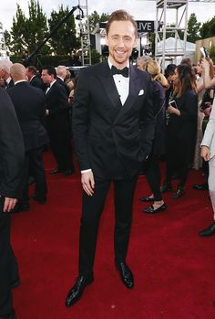 Tom Hiddleston at the 74th Annual Golden Globe Awards at The Beverly Hilton Hotel on January 8, 2017 in Beverly Hills, California