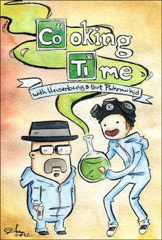 Cooking Time - Breaking Bad / Adventure Time mash-up Cooking time, C'mon grab your dealers, We'll go to very distant lands. With Heisenberg and that Pinkman kid The drug will never end, it's Cooking Time! Adventure Time, Jesse Pinkman, Breaking Bad Arte, Breking Bad, Land Of Ooo, Finn The Human, Kids C, Jake The Dogs, Amazing Adventures