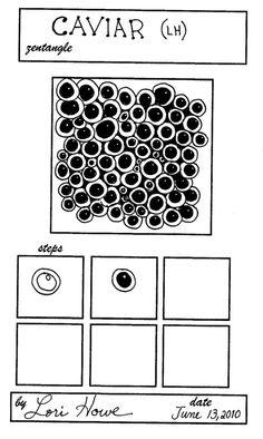 Lacefairy Zentangels: Caviar