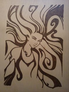 Sarah-Jane's pyrography - very talented!