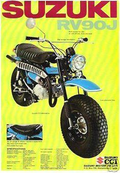 1972 Suzuki RV90J Rover