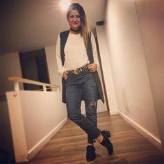 Terminando este sábado... ⚫️🐯⚪️ . . #ootd #outfit #outfits #outfitdeldia #outfitoftheday #look #lookoftheday #lookdeldia #moda #instamoda #fashion #instafashion #style #mystyle  via ✨ @padgram ✨(http://dl.padgram.com)