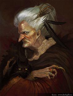 vieille sorcière
